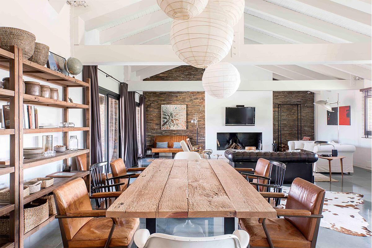 Reforma integral de salón y sala de estar en A Coruña